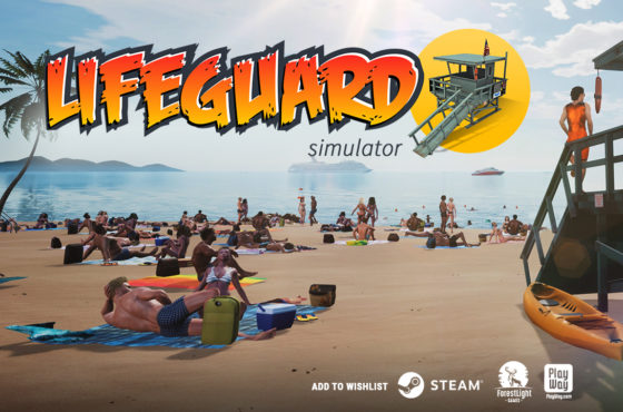 NEW TRAILER IS RELEASED! LIFEGUARD SIMULATOR