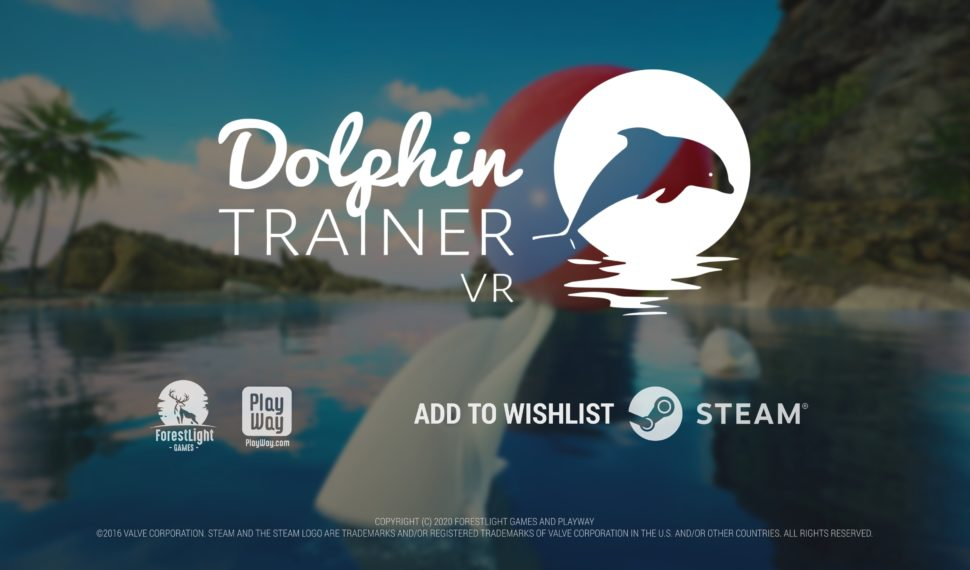 New Trailer is Released! Dolphin Trainer VR