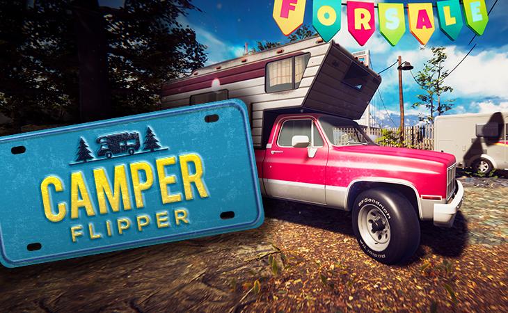 NEW TRAILER IS RELEASED! CAMPER FLIPPER